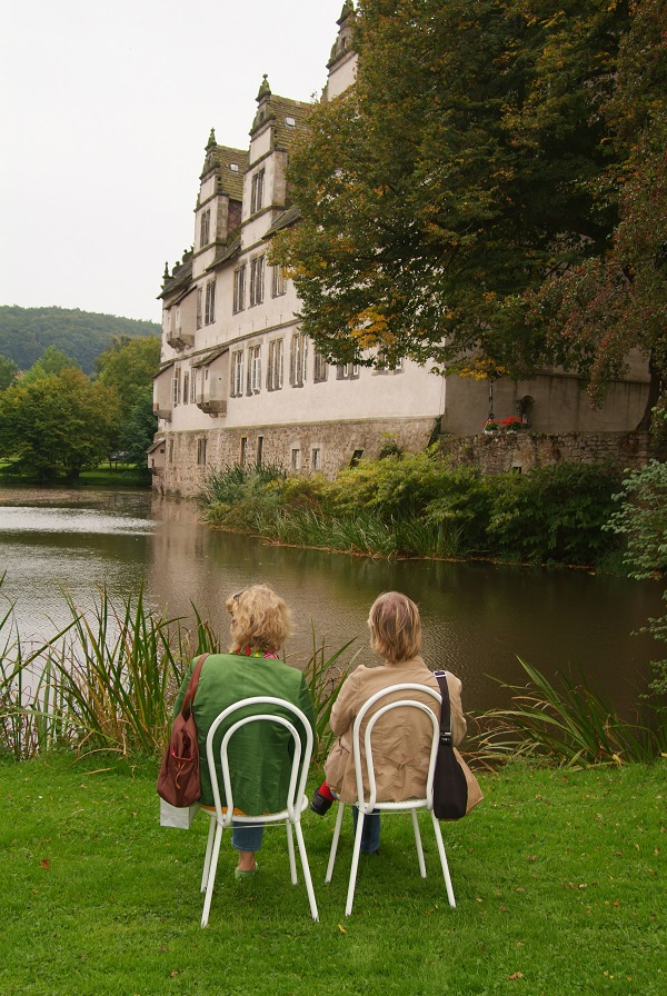Bild Foto vom Schloss